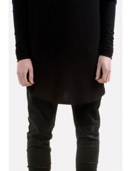 Men Black Pocket Casual Skinny Jeans